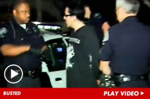 Liotta Arrested Charged With Dui by Rock Singer Arrested For Dui After Multi Car Smash