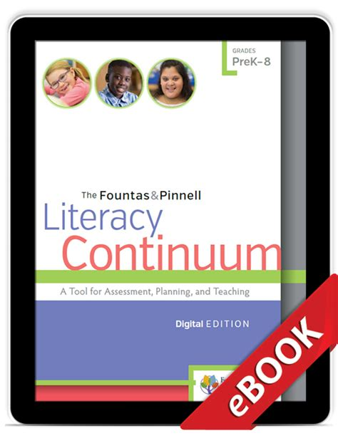 the fountas pinnell literacy continuum expanded edition a tool for assessment planning and teaching prek 8 the fountas pinnell literacy continuum