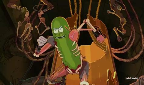 watch rick and morty previews more pickle rick and the
