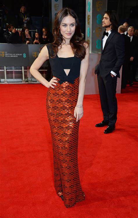 Catwalk To Carpet Bafta Awards olga kurylenko on the 2014 bafta carpet s