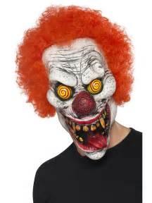 Adult twisted clown mask 44745 fancy dress ball