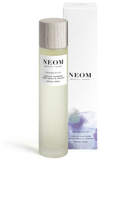 tranquility home fragrance diffuser neom organics london tranquility room spray and pillow