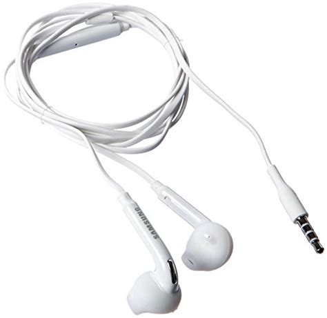Headset Samsung Galaxy samsung wired headset for samsung galaxy s6 s6 edge non retail packaging white