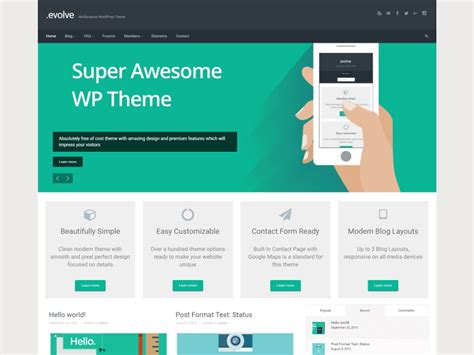 wp theme generator review evolve review from our experts isitwp