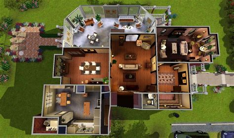 Halliwell Manor Floor Plan | my sims 3 blog halliwell manor by heaven sent 8 18