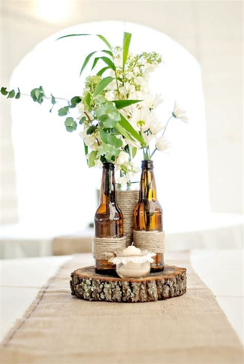 fabulous artificial wedding centerpieces decorating ideas hilary maurice s intimate backyard wedding with a