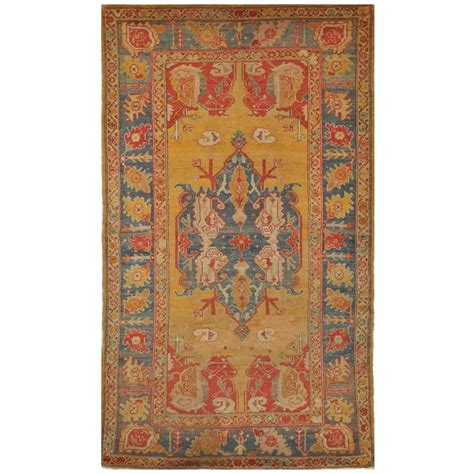 antique oushak rug small antique turkish oushak rug for sale at 1stdibs