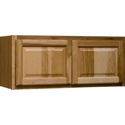 hickory kitchen cabinets home depot hton bay 24x30x12 in hton wall cabinet in natural