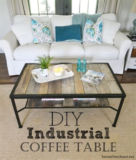 diy industrial coffee table top 14 diy projects of 2014 beneath my