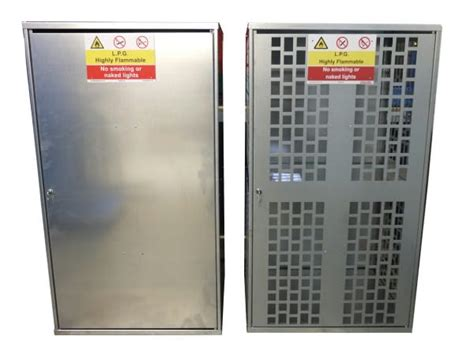 Gas Bottle Storage Cabinet 10 X 11kg Solid Gas Cylinder Cabinet