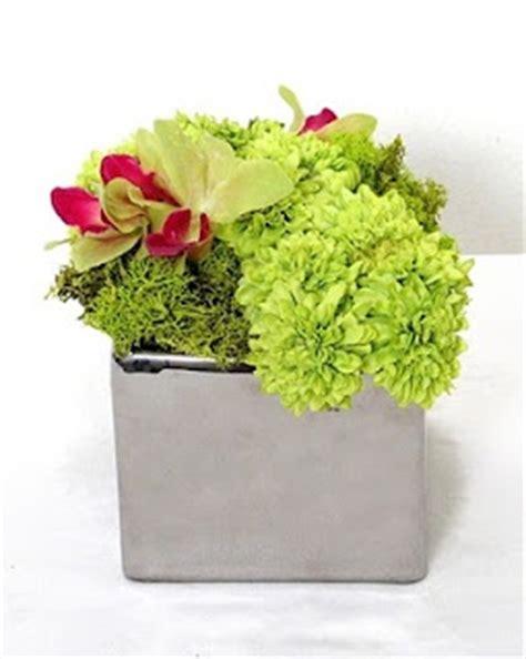 floral arrangement square container flower arrangements