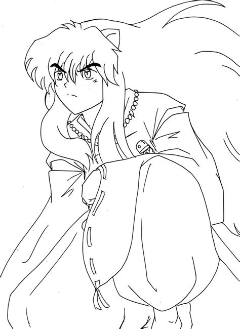 Printable Inuyasha Coloring Pages Coloring Me Inuyasha Coloring Pages