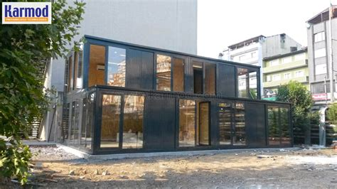 pre assembled pre assembled office buildings and guard booths karmod