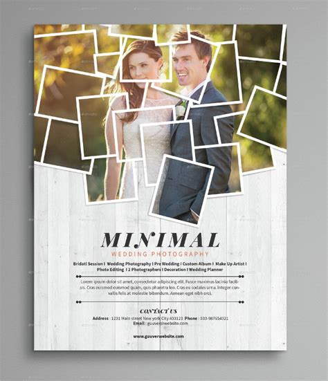 photography flyer designs examples psd ai