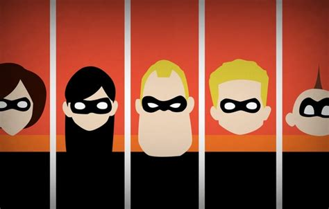 The Incredibles Iphone Casesemua Hp wallpaper minimalism the incredibles disney company
