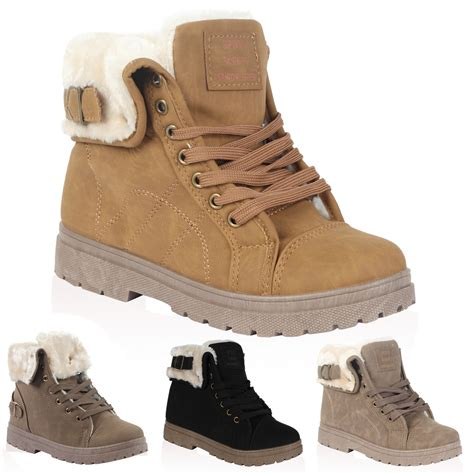 shoes for in winter vh3 womens faux fur grip sole winter ankle boots