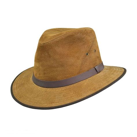 all fedoras where to buy all fedoras at village hat shop jaxon hats nubuck leather safari hat all fedoras