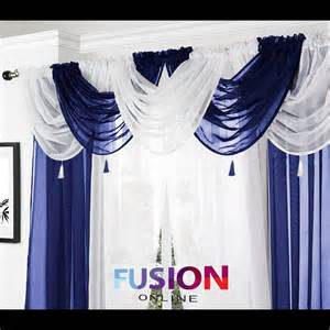 swag curtain valance net curtain swag swags tassle voile decorative drapes