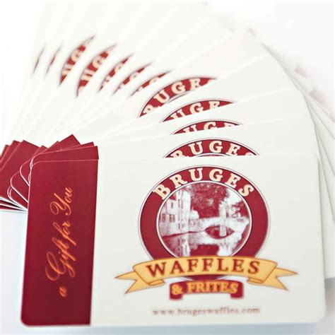 Waffle House Gift Card by Bruges Waffles Frites Menu