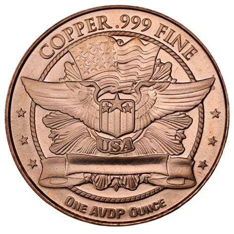 1 Oz Silver Rounds Cheap by Buy 1 Oz Standing Liberty Copper Rounds 999