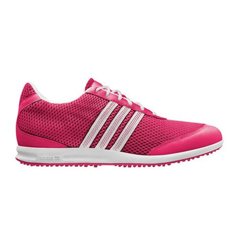 adidas 2012 adicross s womens golf shoes pink white at