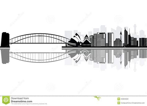 black and white sydney skyline wallpaper the facts and sydney skyline stock vector image of classic downtown