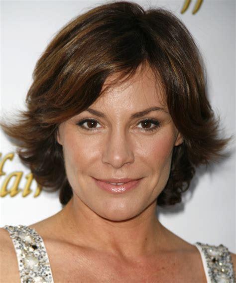 Luann De Lesseps Haircut | countess luann de lesseps medium straight casual hairstyle