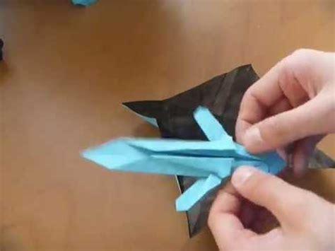 how to make a origami minecraft sword origami minecraft sword