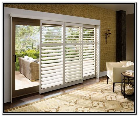 sliding door window treatments tips of how to select the window treatment for sliding
