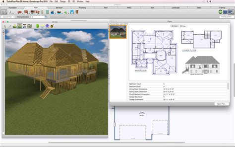 turbo floor plan turbofloorplan 3d home and landscape pro mac app store da