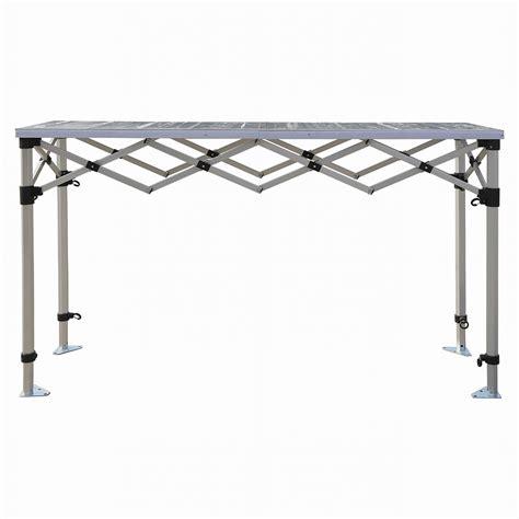 Table Hauteur Comptoir by Bar Comptoir Pliant 1 8m Hauteur R 233 Glable Plateau Et