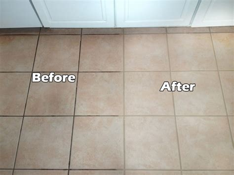 Cleaning Floor Grout Grout Cleaning Before After Images Seal Systems