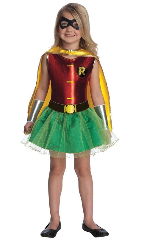 superhero halloween costumes for girls kids robin girl costume 30 39 the costume land