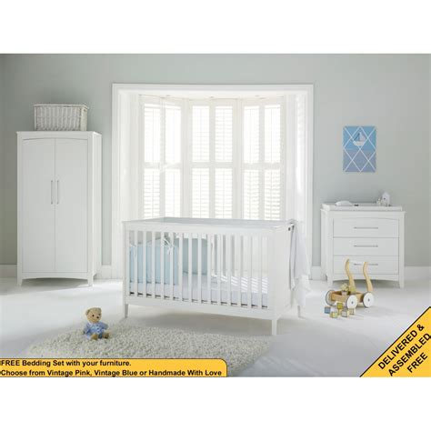 Silver Cross Nursery Furniture Sets Silver Cross Kew Nursery Furniture Set
