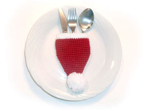 cutlery holder for table santa cutlery holder for table decoration