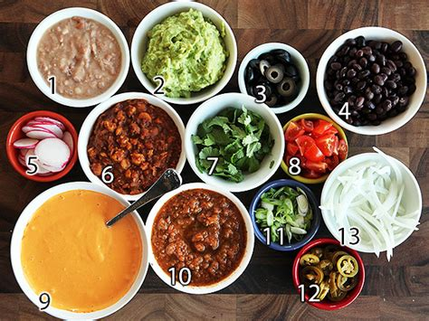 nacho bar toppings the food lab the ultimate fully loaded vegan nachos