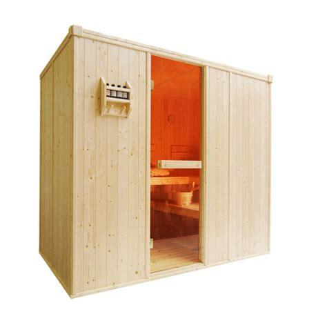 sauna cabin d2035 sauna cabin 2170 x 1350 x 1950mm bathers 3 4