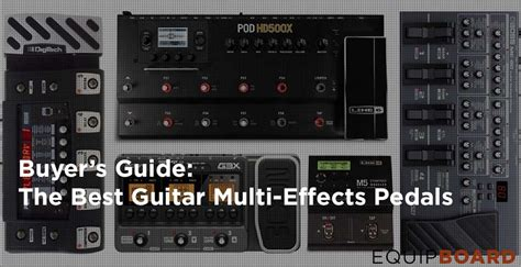best effects pedal 5 best multi effect pedals for guitar august 2016