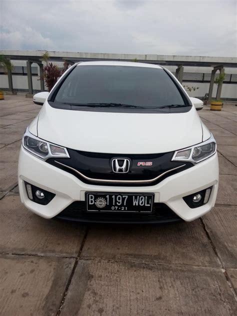 Kunci Honda Jazz Rs honda jazz rs matic 2016 putih km 3000 mobilbekas