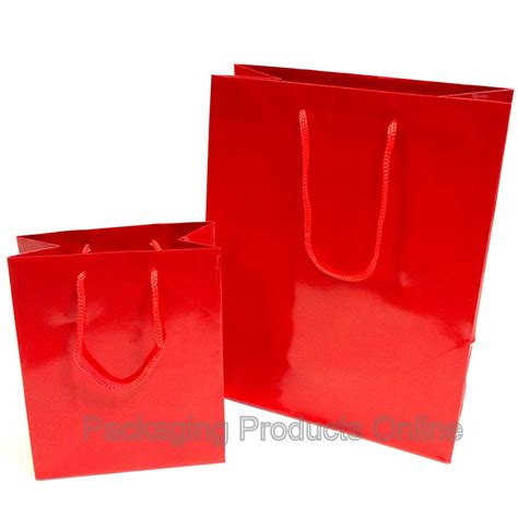Paper Gift Bags - paper gift bags glossy packaging products