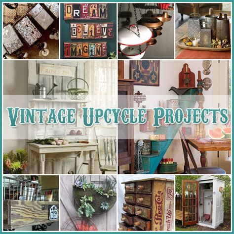 diy upcycling projects vintage upcycle project diy s the cottage market