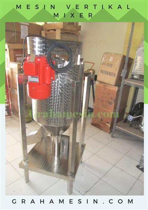 Mesin Mixer Pakan Ternak mesin pengaduk vertikal pakan ternak kapasitas kecil