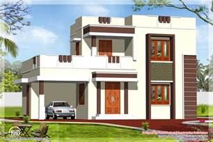 Kitchen Floor Idea 1400 Square Feet Flat Roof Home Design Kerala House