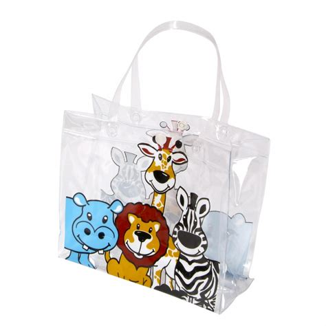 Bag Zoo 8 25 quot zoo animal tote bag
