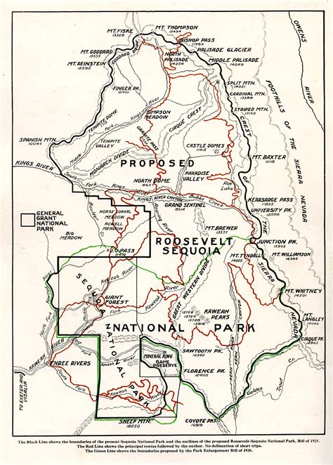 sequoia national park map susan thew unsung heroine of sequoia national park sequoia national parks u s