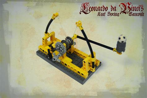 Brick Lele Lego Comp Launcher Lego Motorized Catapult Impremedia Net