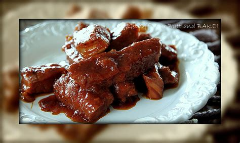 baked bbq country style ribs barbecue country style ribs 187 get your and bake