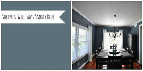 sherwin williams smokey blue beautiful paint colors and colors on pinterest