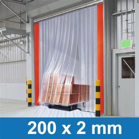 lamellenvorhang stall pvc streifenvorhang 200x2mm f 252 r pferdestell oder werkstatt