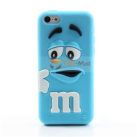 Shape Silicone Samsung Galaxy Siiii9300 Baby Blue pizu m m bean smell soft silicone for iphone 5c